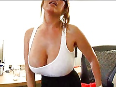 Hot Huge-Titted Asian MILF