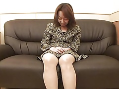 47yr age-old Hairy Kiyoko Tachibana gets Creamed (Uncensored)