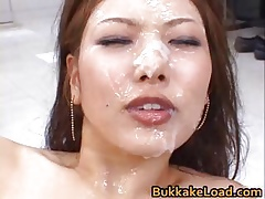 Aya matsuki hot asian tolerant enjoys a cum