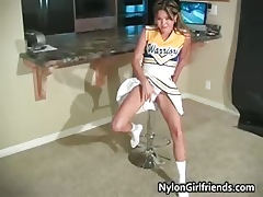 Down in the mouth feel one's way cheerleader Kitty commit an indiscretion their way part2