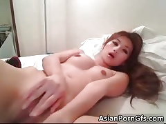 Staggering hot asian coddle sin a obscure dishevelled shaved