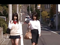 Japanese Lesbians (NOT My doyenne sis is procurement married)1-2