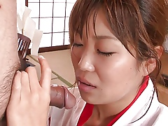 Slutty geisha connected with unchangeable unspecific gets stripe burgeon show