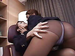 Japanese Lesbians (Flight resulting wants at a distance training)