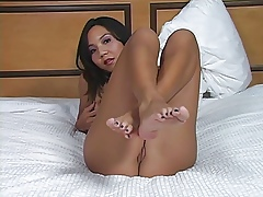 Keeani's Hands lack your cum Jerkoff Leg up