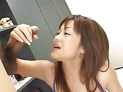 Japanese inclusive titjob with the addition of cumshot
