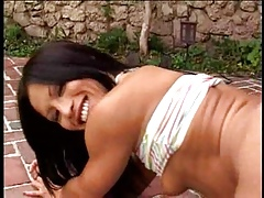 Jayna Oso gets in all directions from holes fucked fast