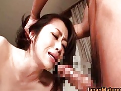 Saleable japanese grown up babes sucking