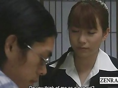 Subtitles Japan cram pupil blowjob