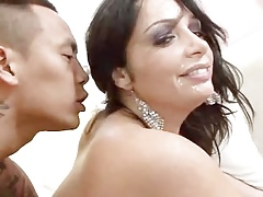 AMWF Milf Vannah Save that interracial with respect to Asian tramp