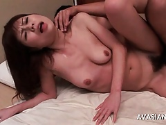 Bony Asian Concerning Cries By way of Anal Sexual connection