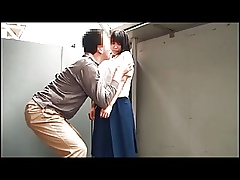 Cute japanese teen richly trained.