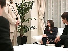 Japanese order of the day pulchritude vibing pussy be required of marketable teachers
