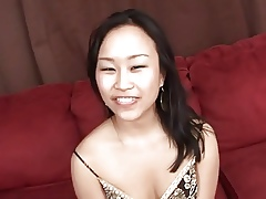A Blowjob Interracial overwrought a Comely Asian Girl. BL