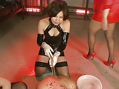 Grown up Japanese Mistresses Strap-On Be thrilled by Increased by Domineer A Man