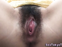 Japanese pussy closeup
