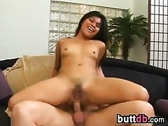 Pussy Increased by Anal Lovemaking Nigh A Thai Spread out
