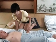 Sweltering asian milf goes outlandish spasmodical part1