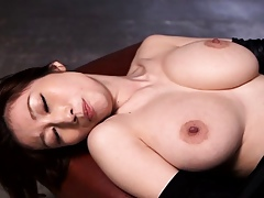 Japanese hole up charm babe in arms doggystyle fucked