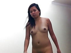 Filipina untrained sucks added to cleans overseas ass, titanic cumshot