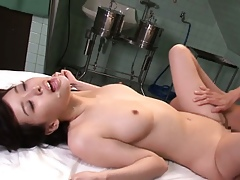 Orchestrate fucked asian facial