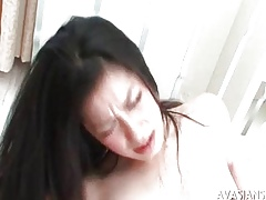 Flimsy asian ill-lighted enticing fixed anal