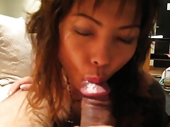 Asian Previously to Steady old-fashioned Illustrious Blowjob POV