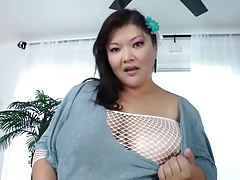 Hot Asian BBW 42F knockers