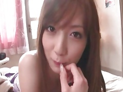Hot asian hoe hits the shower and she part5