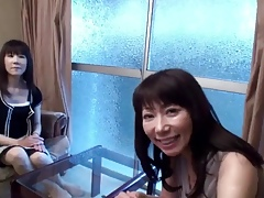 50yr old Grannies Yoshiko Saito plus Takako Ueno (Uncensored)