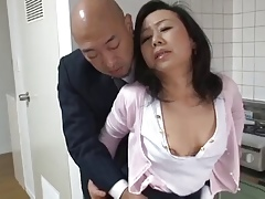 Adult Japanese mam Desires son's friend Cock (Censored)