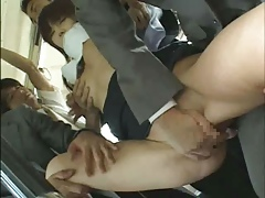 New Business Girl Bus Chikan Part 1